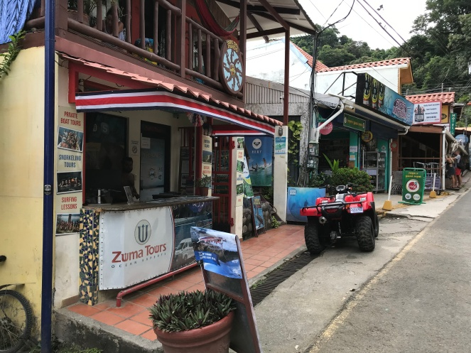 Zuma Tours on Main Street in Montezuma